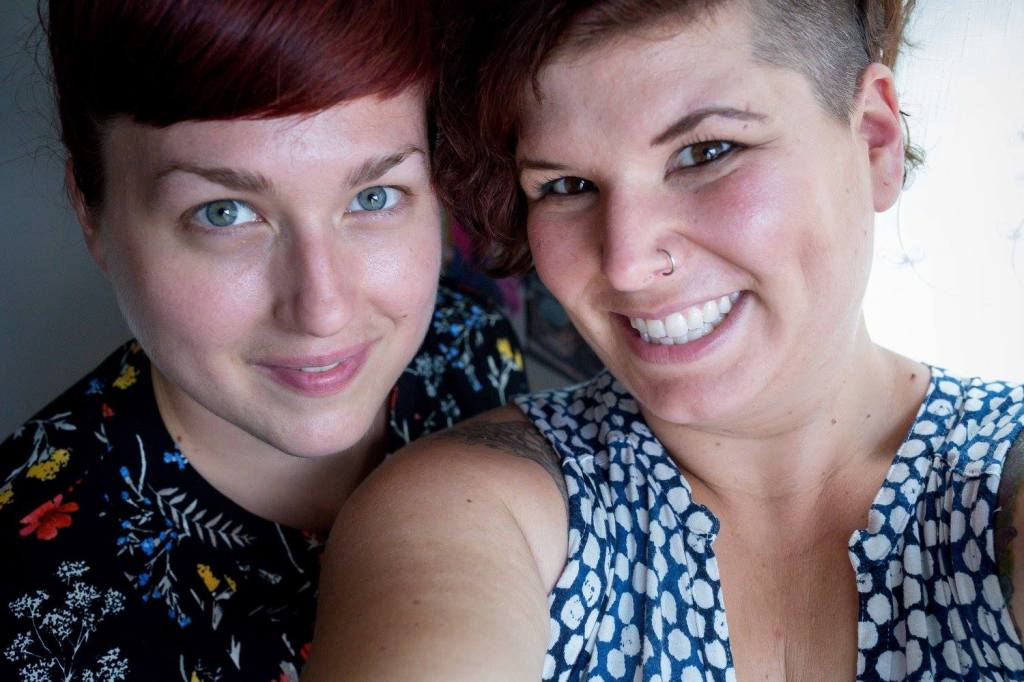 Headshot of Jenn Avis and Steph Hayes